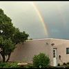 Rainbow over Garage