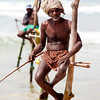 MIRISSA. SOUTH SRI LANKA. STILT FISHERMEN.