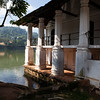 KANDY. OLD BATH HOUSE. TEMPLE OF THE SACRED TOOTH RELIC. SRI DALADA MALIGAWA. CENTRAL SRI LANKA.