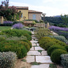 View to the house - Provence Garden Story