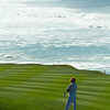 Rickie Fowler at the PGA Pebble Beach Pro-Am Practice Rounds