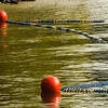 water polo buoy on lake