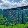 West Virginia's New River Gorge bridge carrying US 19 over the gorge
