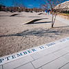 WASHINGTON DC - CIRCA APRIL 2013: Pentagon memorial circa June 2013 in Washington DC, USA. Permanent outdoor memorial to people killed in building and in Flight 77 in the September 11, 2001 attacks.