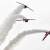 airplanes at airshow