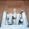 Abraham Lincoln Memorial in Washington DC USA