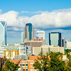 skyline of a modern city - charlotte, north carolina, usa