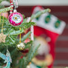 christmas tree ornaments and decorations
