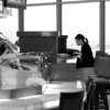 Dining Alone, SFO - San Francisco, California
