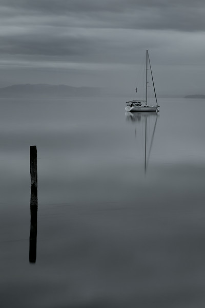 Tranquil Bay - Early morning calm across the water near Coupeville WA