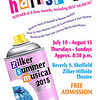 "Poster for Zilker Summer Musical Show, ""Hairspray"""