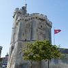 LA ROCHELLE. TOWER OF THE OLD HARBOUR (VIEUX PORT).