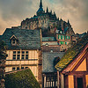 "<h2>The Towering Old Village</h2> <br/>Aren't medieval places the best? Yes! I wonder what it would be like to live here all the time. Maybe you'd get tired of how charming and Hansel & Gretel everything is all the time… I doubt it though!<br/><br/>Around this old monastery of Mont Saint Michel is a curtain wall where you can easily walk along the top. It's quite cool because every few steps there is a good view of the village and the tower above, each view offering another good photo op. <br/><br/>- Trey Ratcliff<br/><br/><a href=""http://www.stuckincustoms.com/2013/03/13/the-towering-old-village/"" rel=""nofollow"">Click here to read the rest of this post at the Stuck in Customs blog.</a>"