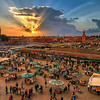 Marrakech, Morocco at Sunset