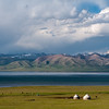 Song Kul (lake), Kyrgyzstan