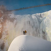 Climbing the Sugarloaf at Montmorency Falls (Canada)