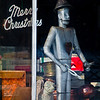Merry Christmas, Tinman, Cheyenne, Wyoming, USA 2014