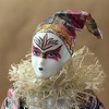 Harlequin clown doll