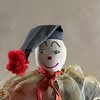 Clown doll in cloth