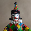 Clown doll action figure