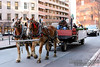 Horse and wagon rides in the Old Port.