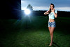 Main light: AB800 1/4 power through a large softbox, set off by a CyberSync and powered by a Vagabond Mini.
