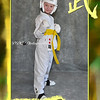 Sports Card Sample - Martial Arts - customized for order<br /> Available at Single Portrait w/ Decorative Border Prices