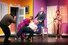 """A scene from Listowel Drama Groups production of their hillarious commedy  """" Run for your wife"""" which opens in St John's in Listowel on Friday.Included are Con Wheelan, Nora Landy, Kevin Barry, Owen McMahon and Imelda Dowling Garvey"""
