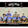 Spurs Basketball 2014