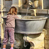 Kids and Water fountains