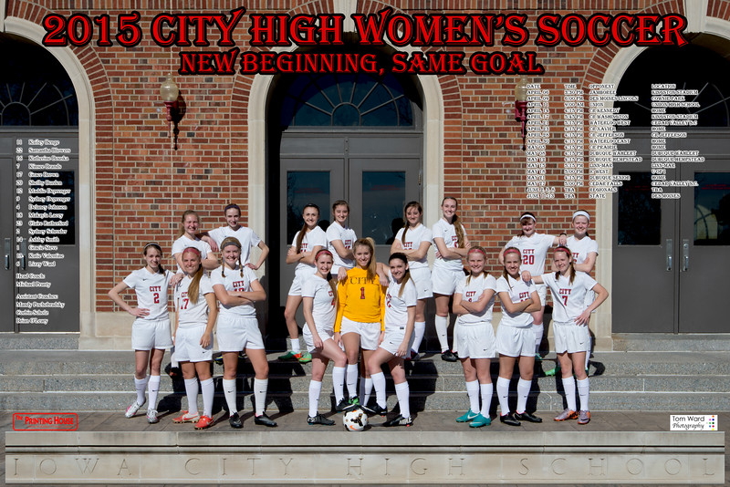 Girls Soccer Poster Final