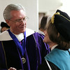 Alan Hall, Ann Milner, Weber State University 2012 spring commencement