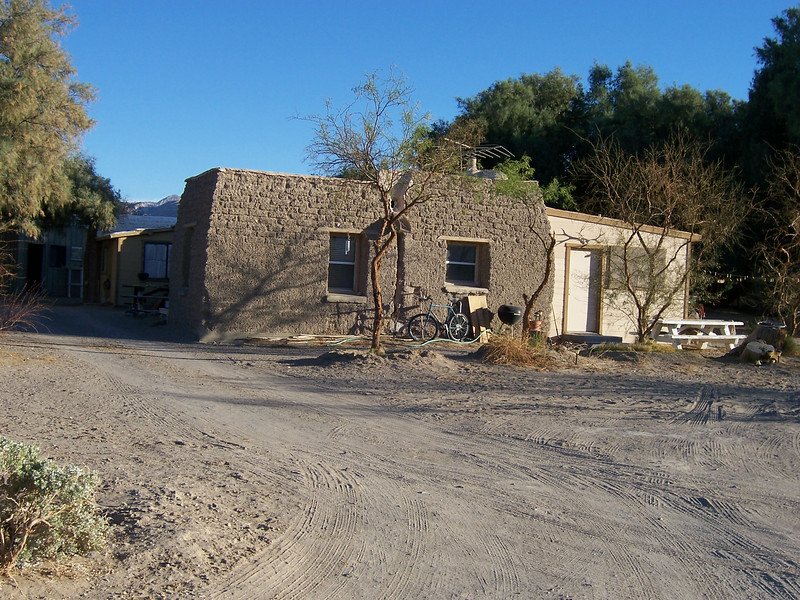 Timbisha homes in Death Valley