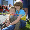 Sean And  Fiona Conway from Glin enjoying the fine weather ane festivities at the Foynes festival.<br /> Pic Brendan Landy