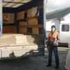NRC delivering construction materials to the town of Shastia, Eastern Ukraine. <br /> <br /> The NRC Emergency Response Team arrived in Ukraine at the end of October 2014. Immediately it was identified that the biggest needs are in the Eastern two Oblast's (administrative divisions) of Dontesk and Luhansk. <br /> <br /> After initial visits to the government held territories within these Oblasts and discussions with partners and other humanitarian authorities the NRC team has decided to establish a base in Severodonetsk town of Luhansk Oblast. This area hosts IDPs and is close to population affected by conflict and the frontline itself.<br /> <br /> NRC has managed to reach the town of Shastia and delivered rebuilding materials to city authorities who distributed it to vulnerable people. NRC staff are now working with local authorities and providing materials to local electrical and gas companies in their efforts to restore power and gas supplies to affected towns and villages at front line.<br /> <br /> Photo: NRC/Zoran Filipovic