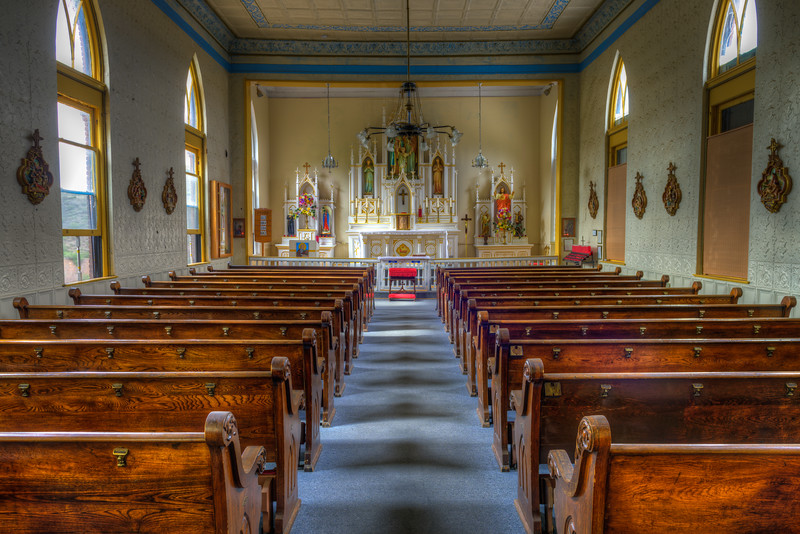 Holy Family Catholic Church In Jerome, AZ