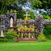 Shrine at St. Raphael Church on Kaua'i