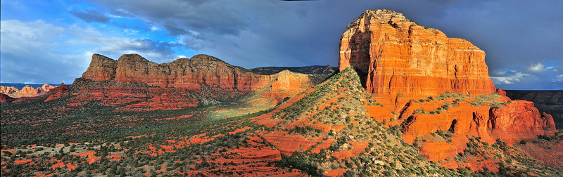 Courthouse Butte, viewed from Bell Rock - Sedona