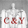 CY Lincoln Logo red text