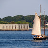 Fort Gorges in  Maine