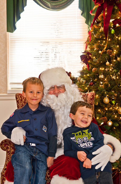 Project 52 - KAT Photo 48 - Santa Claus Came to Town - 12-1-2012