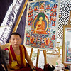 Monk-Artist with His Thangka