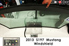 2013 s197 Mustang windshield weight