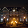 Comenius Hall at Night