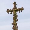 Ornate Cross at Church of Notre Dame, Colleville-sur-Mer