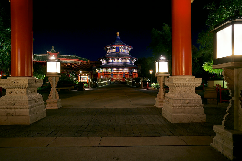 Epcot China Pavilion - Temple of Heaven