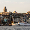 Iconic part of Istanbul's skyline, the Galata Tower.