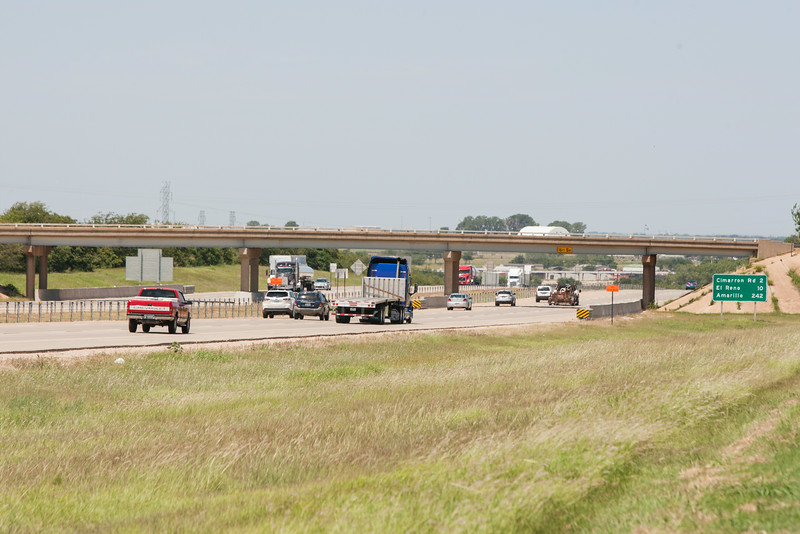 A new exit has been proposed at I-35 and Frisco Rd. in Yukon to provide better access to future developnment.