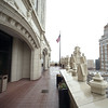 The terrace on Tulsa's Mid-continent building 15th floor.
