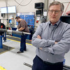 Lee Eslicker, President of D&L Tools, on the shop floor of his west Tulsa based drilling tool manufacturing business.